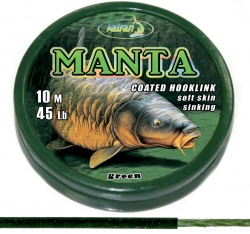 Поводковый материал Manta Green