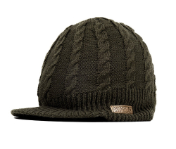 Шапка Cable Knit Peak Beanie