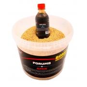 Прикормка AMIX Кукуруза 2,5kg + БОНУС Мелаcса  250ml