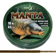 Поводковый материал Manta Brown